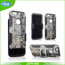 Luxury army camouflage hybrid armor cover TPU PC phone case for iphone 7