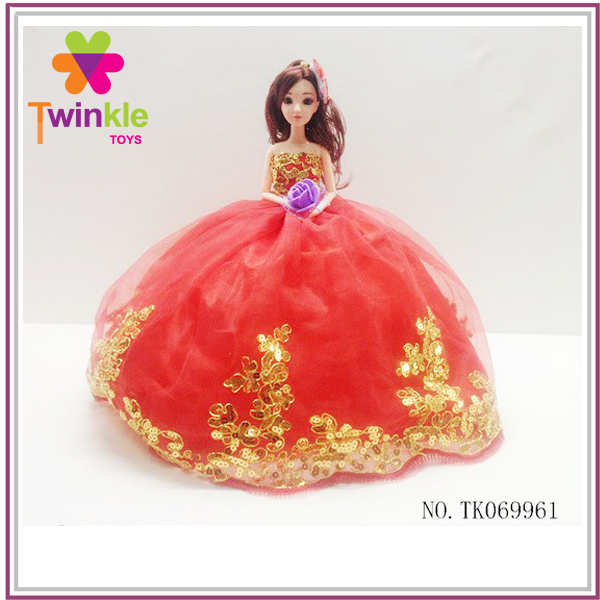 China factory toys girl doll 11.5 inch princess doll toy