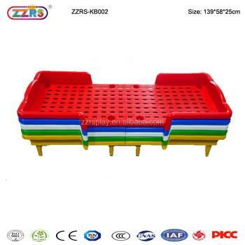 Kindergarten Furniture Wholesale Children Plastic Bed Folding Bed Kids    Buy Folding Bed Kids Product On Alibaba.com