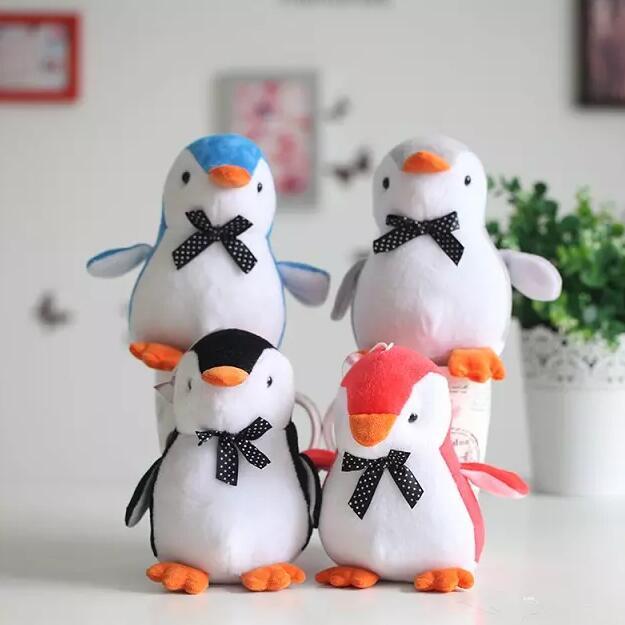 Cm Indah Penguin Dengan Kupu Kupu Mainan Mewah Staf Lucu Hewan Mewah