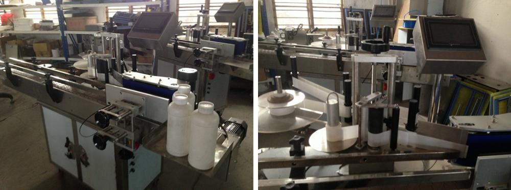 multi nozzles automatic liquid filling linear line for Fruit juices in glass jars