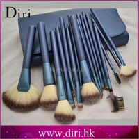 personalized paint brushes for makeup use private label hair tools makeup brushes blue make up brush kit