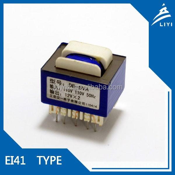 Ei41 Mini Step-up Electronics Transformer 12v Volt Dc To 28v Volt ...