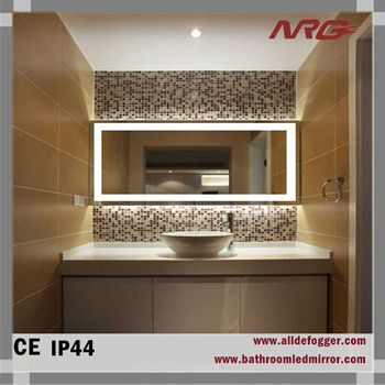 Bathroom Wall Mirror With Led Light For Makeup Bath Shower Mirrors ...