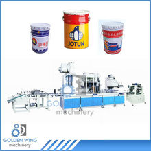 Automatic Conic Forming Pre-curling Flanging Sealing Beading Machine for Tin Can/10-25LChemical Bucket Producion Line