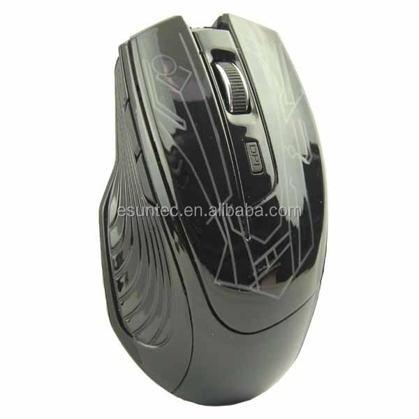 Wireless 6D 2.4Ghz Drivers Optical Gaming Mouse,GM-11
