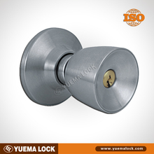 570 stainless steel / High quality/ Cylindrical or Tubular / door cylinder lock with knob