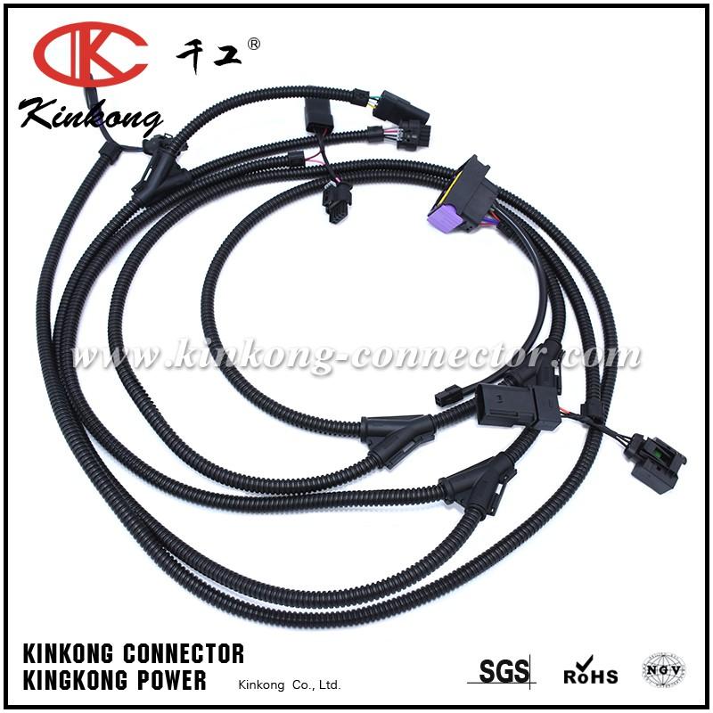 Wire Harness For Auto Engine Compartment