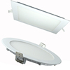 Dimmable Type IC CE Certificate 6' 12W LED Panel Lights Ceiling Down Light For USA& Europe Market