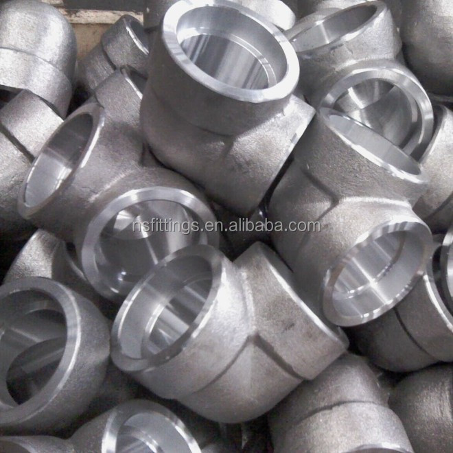 High pressure a f l socketed weld elbow