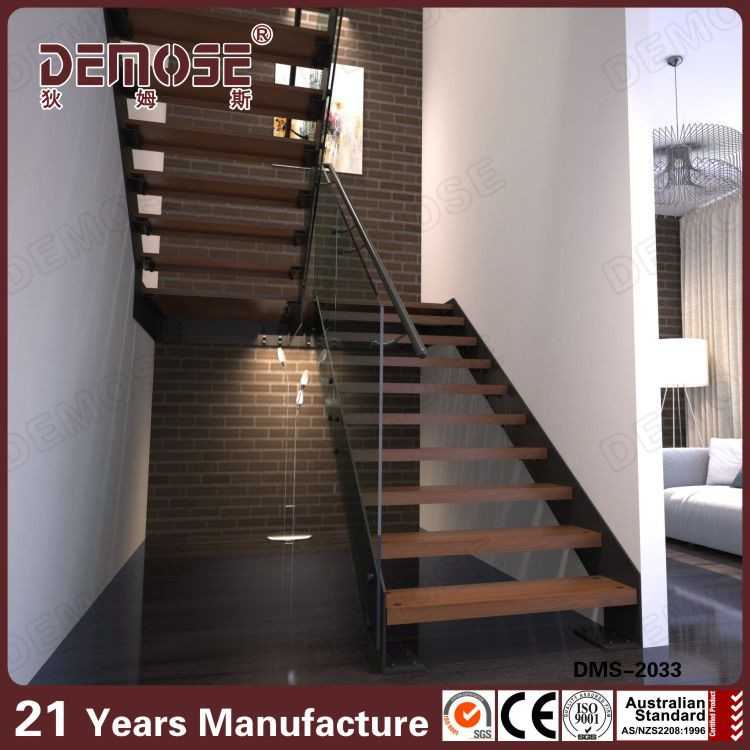 interior de madera escaleras medidas en forma de u On escaleras en forma de u