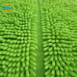 China wholesale high quality 100% polyester microfiber chenille shaggy fabric