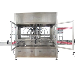 Full automatic plastic bottle water soluble oil filling machine