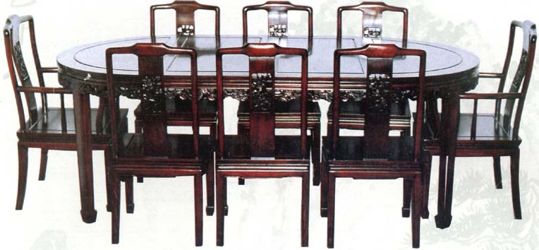 Alibaba & Rosewood Chinese Style Dining Table With 8 Chairs - Buy Dining Table Product on Alibaba.com