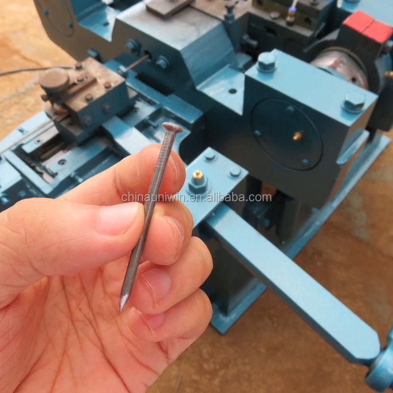 1-6 inch nails manufacturing automatic china nail making machine