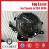 High Quality Fog Lights Land Cruiser 2016 for Toyota Lc200 Accessories