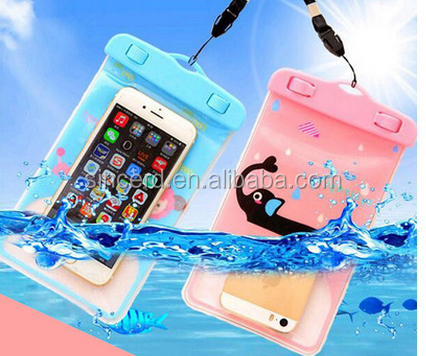 High quality water resistant cell phone bags PVC waterproof mobile phone bag for mobile phone