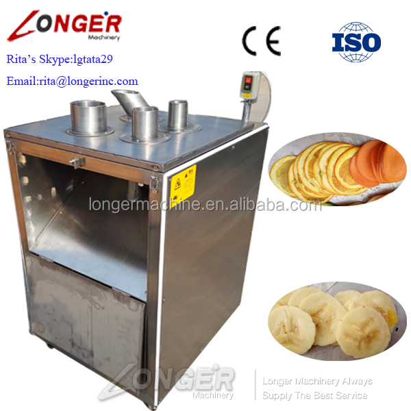 Professional Pineapple Apple Chips Slicing Making Philippine Banana Chips Machine