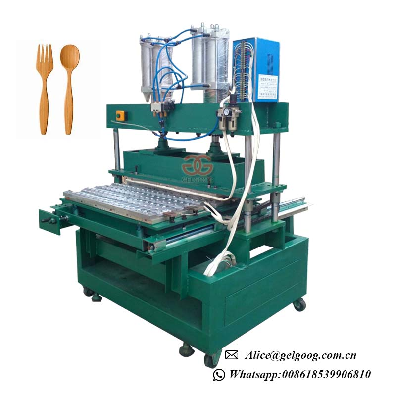 Disposable Multi-Shaped Wooden Spoon Making Machine