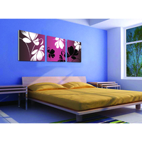 Colorful contemporary art world best indian abstract mural paintings