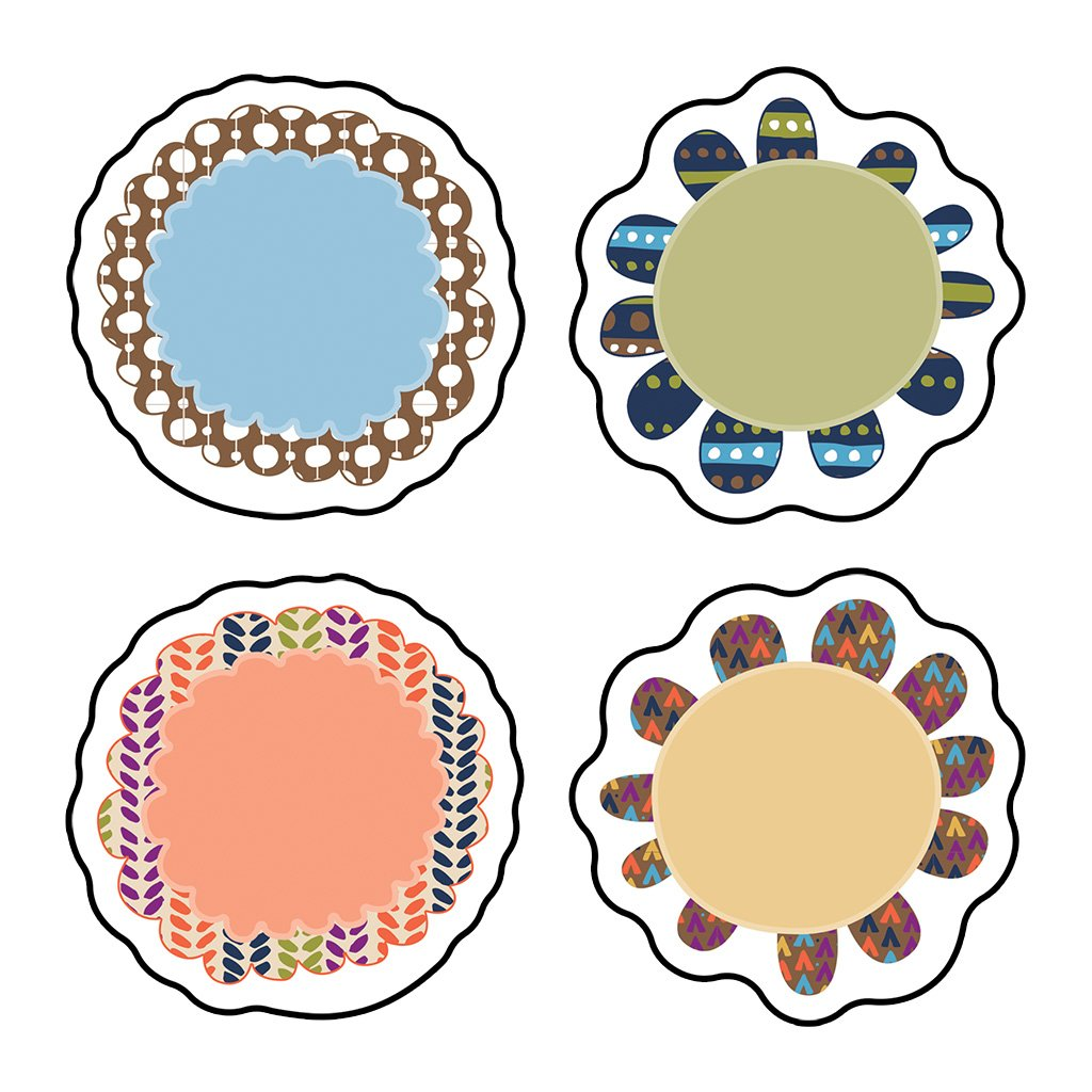Carson Dellosa You-Nique Flowers Mini Cut-Outs (120204)