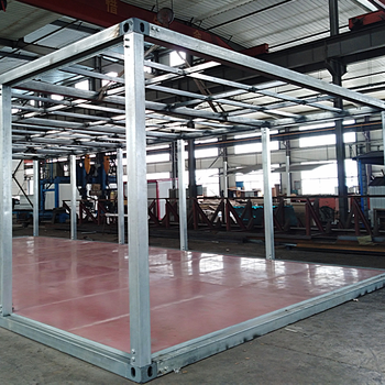 ISO certificated steel structure shipping container frames for sale