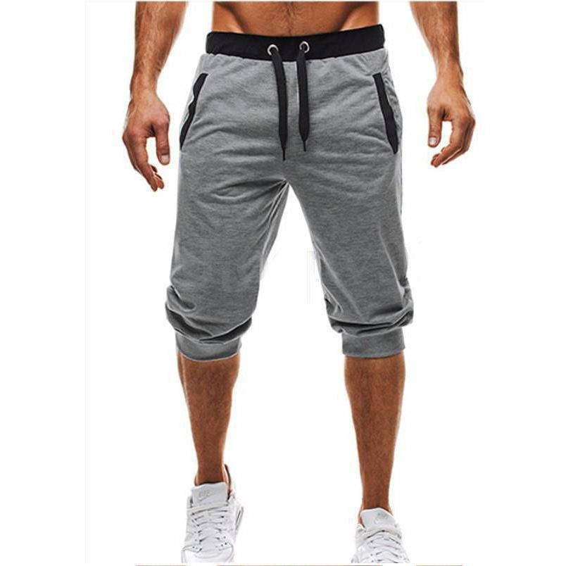 OEM wholesale custom men drawstring soft gym training jogger pants