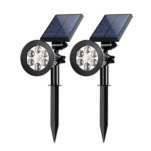 All In One Home LED Garden Column Solar Post Light LED Solar Lawn Light