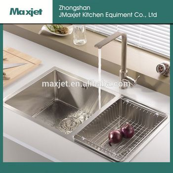 Stainless Steel Fish Cleaning Table With Sink Wall Mounted Bathroom Sinks
