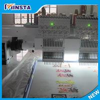 multi-head embroidery machine/sewing machine chain stitch embroidery