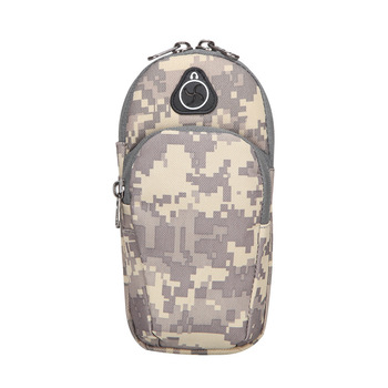 CYSHMILY factory outlet price camouflage series sports mobile phone unisex running equipment arm pocket arm set waist bag