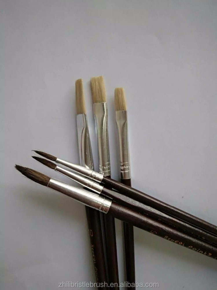 artist brush set bristle