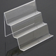 tiered multi-purpose acrylic transparent phone tablet PC display holder phone exhibition display