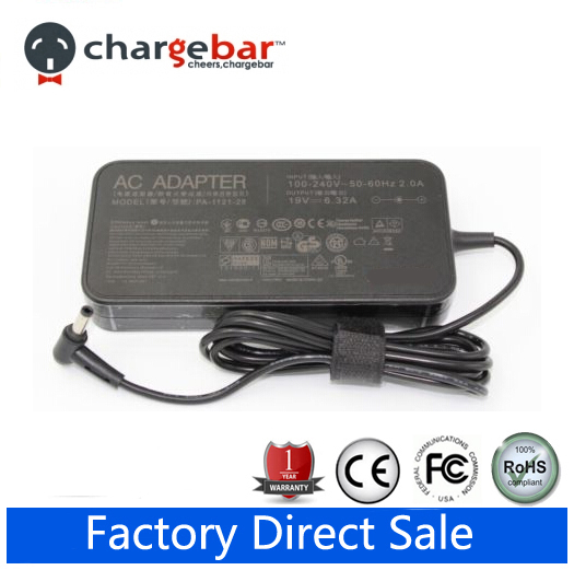 Original 19V 6.32A 120W AC Adapter Charger For Asus ZenBook Pro UX501 UX501J UX501JW Free Shipping