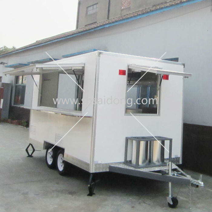 Food Catering Trailer/mobile Kitchen Truck For Sale/food