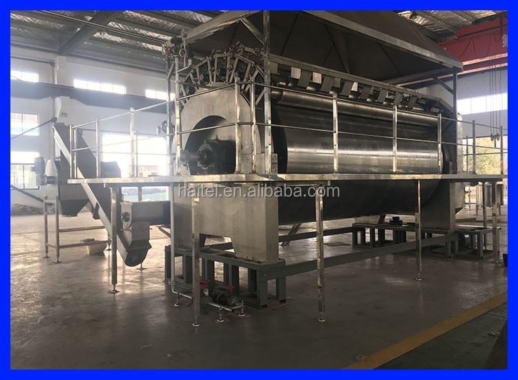 stainless steel automatic baby food rice flakes making machine