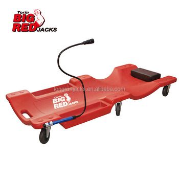 "40""  Plastic Car Creeper with Working Light TRH6802-1"