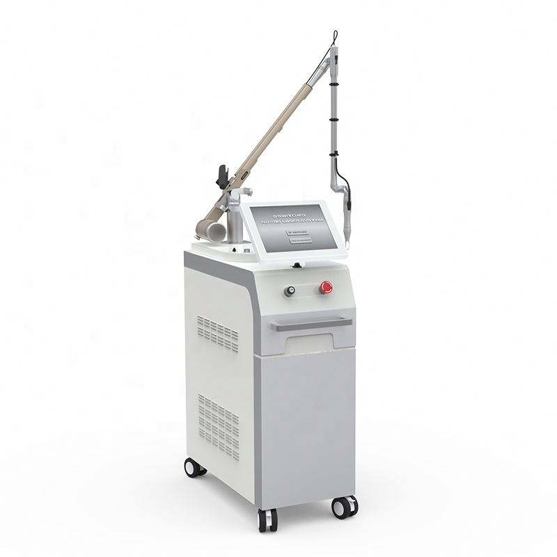 Professionele 1500mj 800mj geboorte mark laser tattoo removal machine