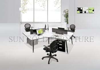 Moderne degré sièges espace rond sauvé poste de travail de
