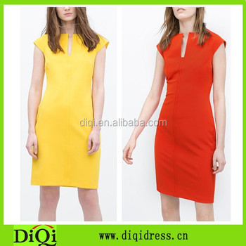 1c4804dc51de5 Designer Trendy Fashion Work Dress,Elegant Party Dresses Two Color Work  Dresses - Buy Red Color Dress Design,Simple Design Party Dress,Latest  Fashion ...
