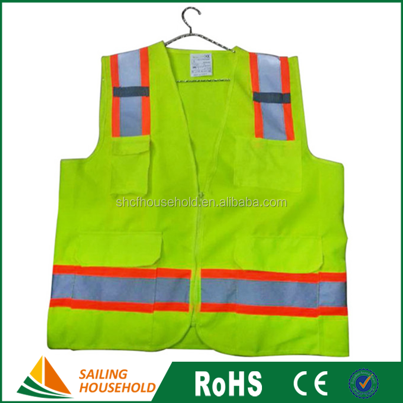 Cheap safety reflective vests, safety vests for children, fluorescent reflective safety