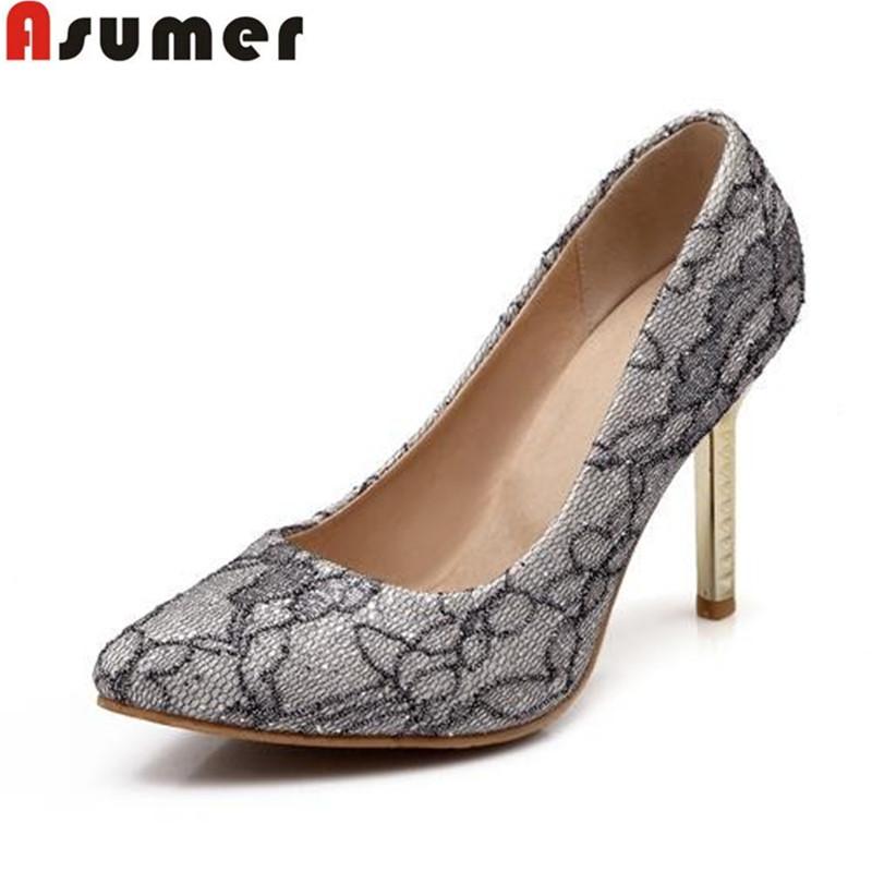 brand new 2347d 279b0 Get Quotations · 2016 plus size 32-45 hot sale women pumps high qualirt  popular cheap pointed toe