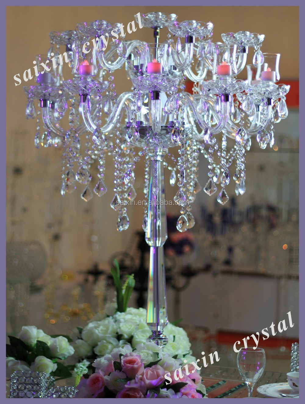 2015 new gorgeous crystal centerpieces wedding table chandeliers 2015 new gorgeous crystal centerpieces wedding table chandeliers for weddings zt 184 arubaitofo Images