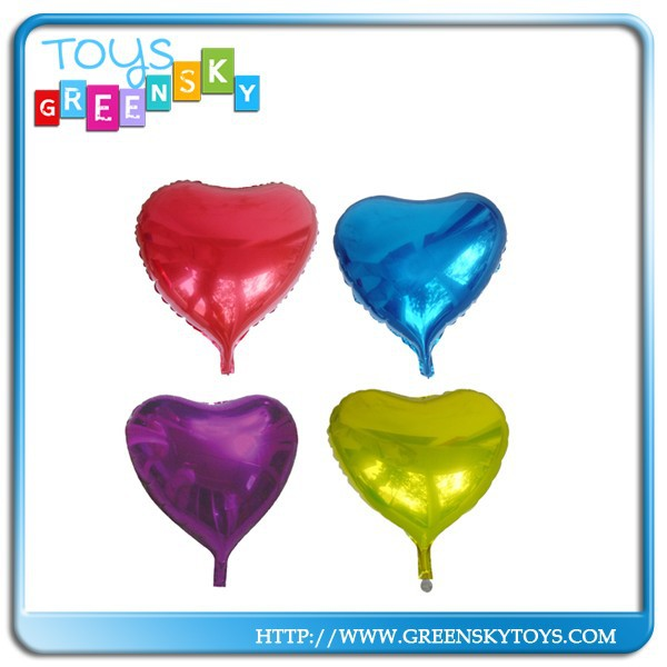 "19"" Heart Shape Helium Foil Advertise Balloon"