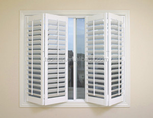 Britain design Basswood or PVC Plantation Shutter