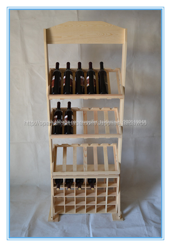 Botellero de madera para vino artesan a folclore identificaci n del producto 300005389429 - Botelleros de madera para vino ...