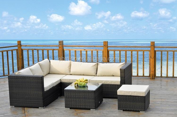 osier extrieur meubles en rotin canap dangle mobilier rotin meubles de jardin canap