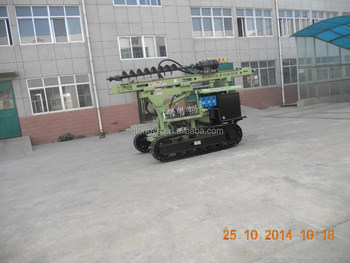 photovoltaic solar spiral pile drilling equipment MZ130Y-2 manufacturer