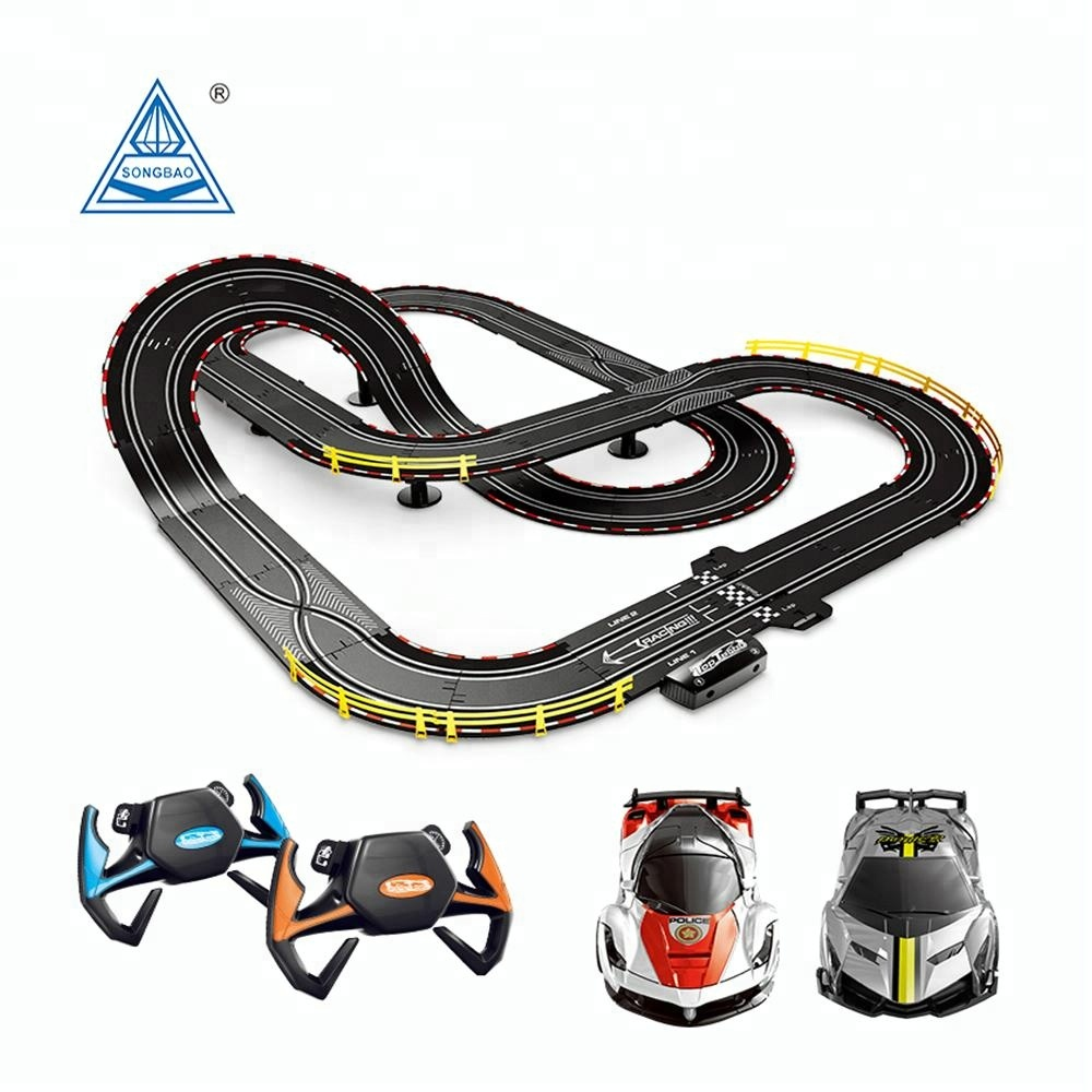 A47 22 Soba Toys 6 6m Slot Car Set 1 43 Scale Rc Electric Race Track