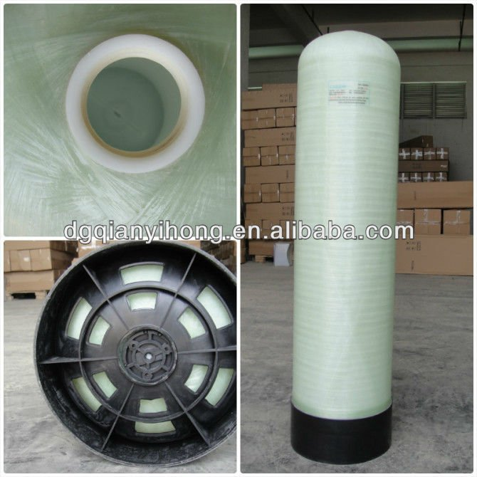 PE liner shell with FRP outshell water carbon filter tanks/fiberglass granular activated carbon filter vessel